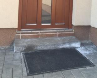 schod pro nájezd Pinnot