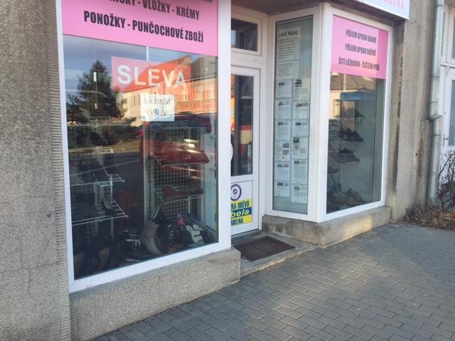 řešení schodu_nájezd do prodejny